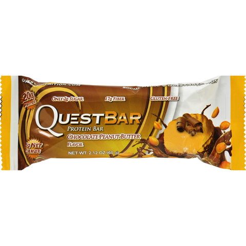Quest Bar - Chocolate Peanut Butter - 2.12 oz - case of 12