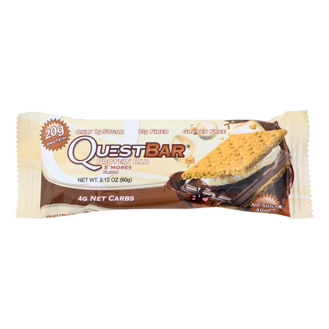 Quest Bar - S'Mores - 2.12 oz - case of 12