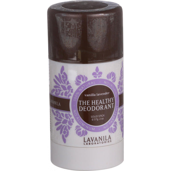 Lavanila Laboratories The Healthy Deodorant - Stick - Vanilla Lavender - 2 oz