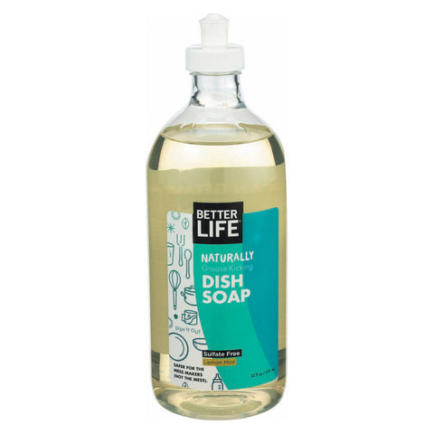 Better Life Dish Soap - Lemon Mint - 22 fl oz