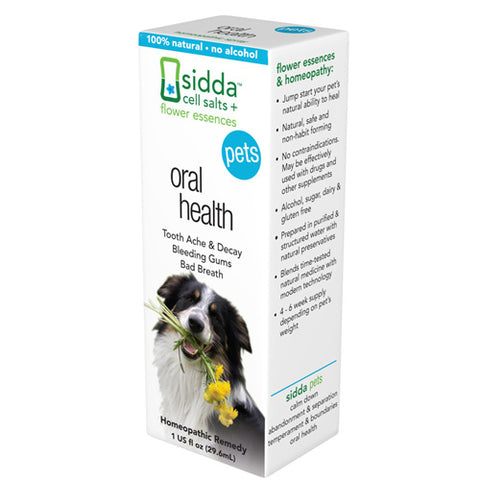 Siddha Flower Essences Oral Health - Pets - 1 fl oz
