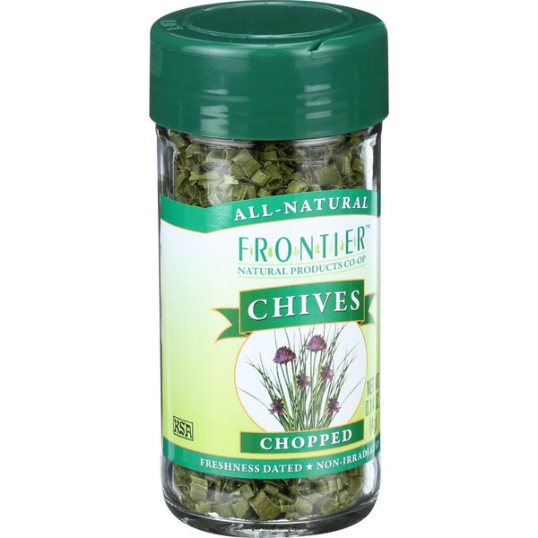 Frontier Herb Chives - Freeze Dried - Cut and Sifted - .14 oz