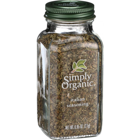 Simply Organic Italian Seasoning - Organic - .95 oz
