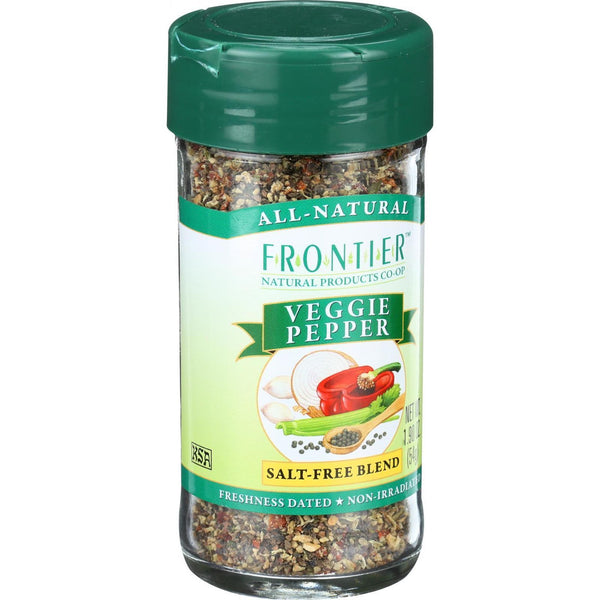 Frontier Herb Veggie Pepper Seasoning Blend - 1.90 oz
