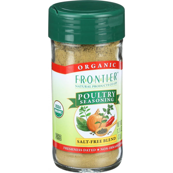 Frontier Herb Poultry Seasoning - Organic - 1.2 oz