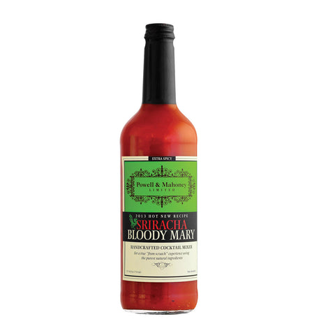 Powell & Mahoney Cocktail Mixers - Sriracha Bloody Mary - Case of 6 - 25.36 oz.