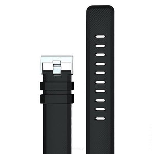22mm Three Color Universal WatchStrap - black - SPORTS SMART WATCH WATCH BAND WATCH STRAP FETCHZY FETCHZY 55% off