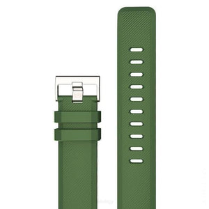 22mm Three Color Universal WatchStrap - green - SPORTS SMART WATCH WATCH BAND WATCH STRAP FETCHZY FETCHZY 55% off
