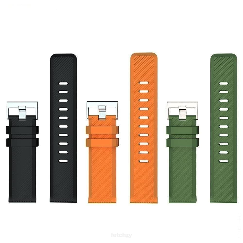 22mm Three Color Universal WatchStrap - SPORTS SMART WATCH WATCH BAND WATCH STRAP FETCHZY FETCHZY