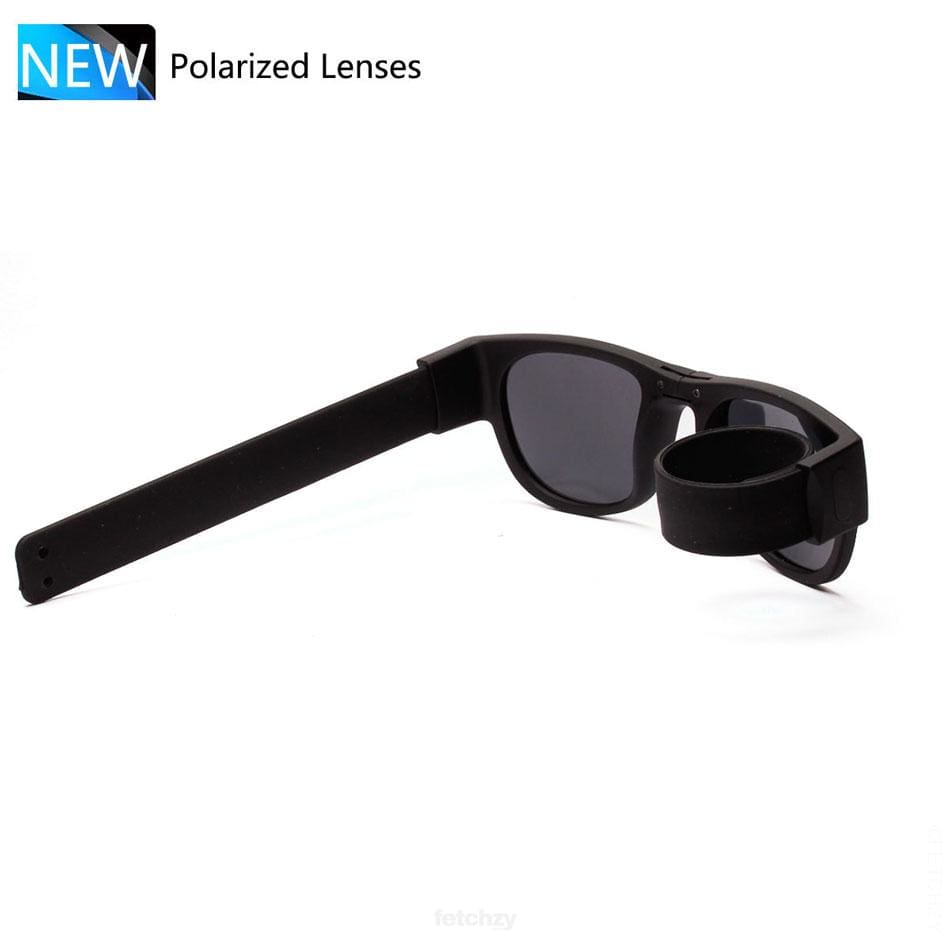 Foldable Unisex Sunglasses. Slap & Foldable On Anything. A Unique Trendy And Creative To Inspire - Eyewear Foldable Sunglasses Foldable