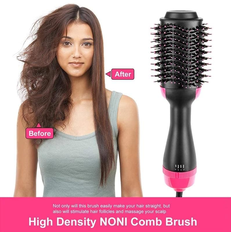 FRIZZY FREE HAIR BLOWOUTS IN HALF THE TIME - POWER OF A DRYER AND VOLUME OF A STYLER BRUSH COMES IN ONE - HAIR STYLER WOMEN FETCHZY FETCHZY