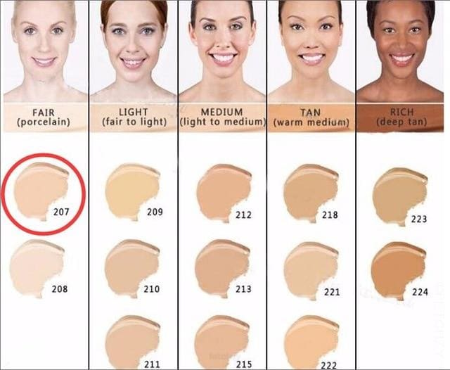Makeup Cover Concealer Liquid Foundation. Covers Freckles Acne Marks & Its Waterproof - Dermacol207 - Makeup Concealer F6 Std Edc Oto
