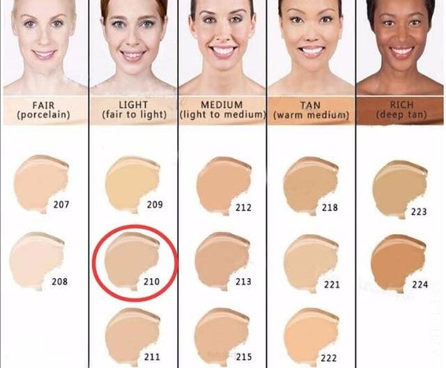 Makeup Cover Concealer Liquid Foundation. Covers Freckles Acne Marks & Its Waterproof - Dermacol210 - Makeup Concealer F6 Std Edc Oto