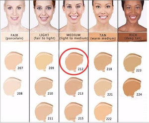 Makeup Cover Concealer Liquid Foundation. Covers Freckles Acne Marks & Its Waterproof - Dermacol212 - Makeup Concealer F6 Std Edc Oto