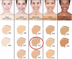 Makeup Cover Concealer Liquid Foundation. Covers Freckles Acne Marks & Its Waterproof - Dermacol213 - Makeup Concealer F6 Std Edc Oto