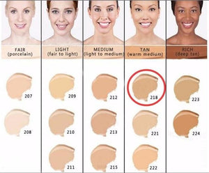 Makeup Cover Concealer Liquid Foundation. Covers Freckles Acne Marks & Its Waterproof - Dermacol218 - Makeup Concealer F6 Std Edc Oto