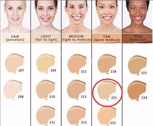 Makeup Cover Concealer Liquid Foundation. Covers Freckles Acne Marks & Its Waterproof - Dermacol221 - Makeup Concealer F6 Std Edc Oto