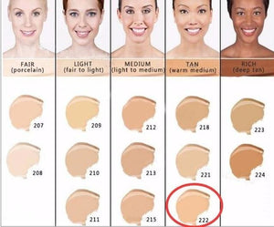 Makeup Cover Concealer Liquid Foundation. Covers Freckles Acne Marks & Its Waterproof - Dermacol222 - Makeup Concealer F6 Std Edc Oto