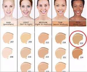 Makeup Cover Concealer Liquid Foundation. Covers Freckles Acne Marks & Its Waterproof - Dermacol223 - Makeup Concealer F6 Std Edc Oto