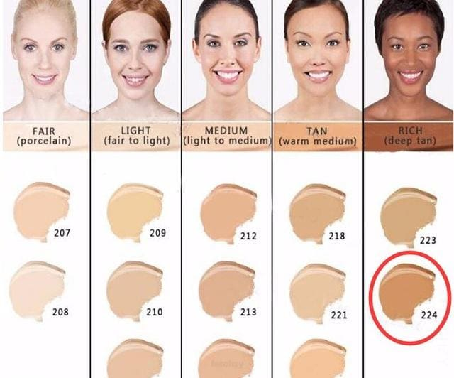 Makeup Cover Concealer Liquid Foundation. Covers Freckles Acne Marks & Its Waterproof - Dermacol224 - Makeup Concealer F6 Std Edc Oto