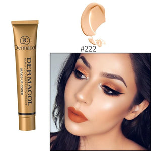 Makeup Cover Concealer Liquid Foundation. Covers Freckles Acne Marks & Its Waterproof - Makeup Concealer F6 Std Edc Oto Foundation Liquid