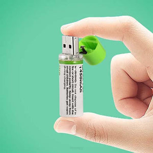 Rechargeable USB AA Batteries - Just Plug And Play No Additional Charger Required! - USB RECHARGEABLE FEATURED, MEN, Rechargeable Batteries,