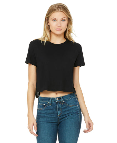 FLOWY CROPPED TOPS