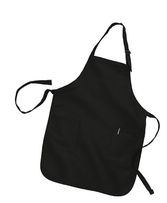Full Length Apron with 2 Patch Pockets