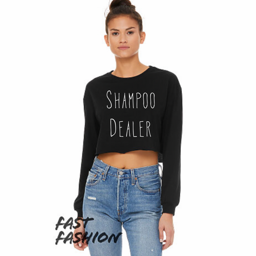 WHC LONG SLEEVE CROP TOP