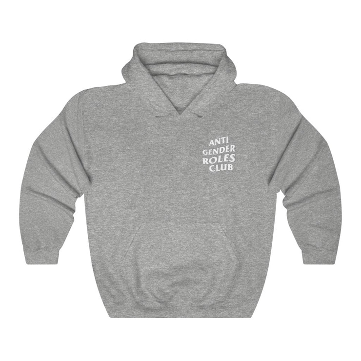 Anti Gender Roles Hoodie (Front and Back Logo)! - Self Sovereignty