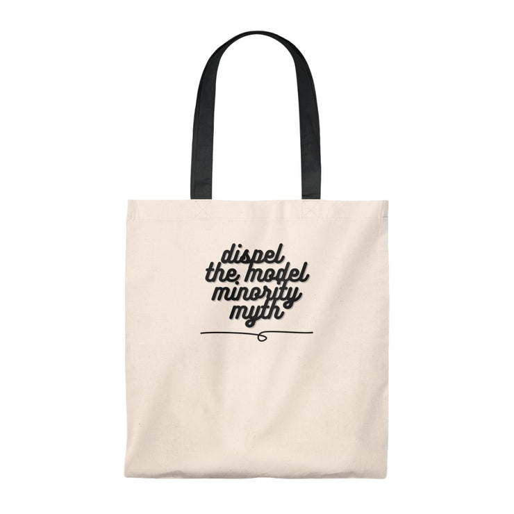 Dispel The Model Minority Myth Tote Bag - Self Sovereignty
