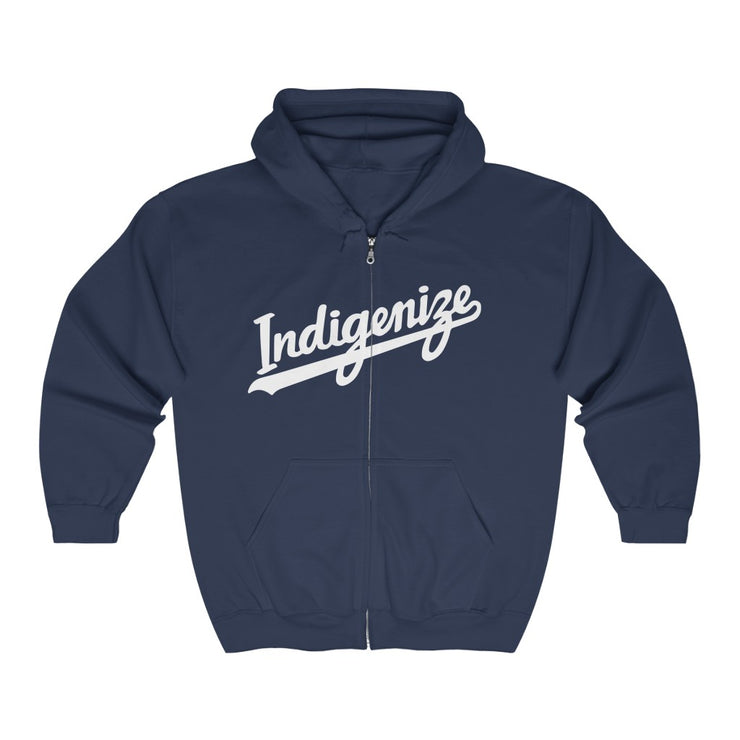 Indigenize Hoodie Zip-Up - Self Sovereignty