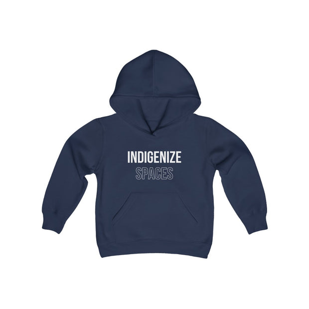 Indigenize Spaces Youth Hoodie - Self Sovereignty