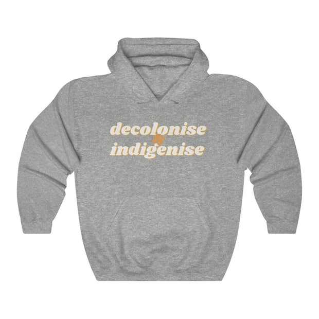 Decolonise & Indigenise Hoodie - Self Sovereignty