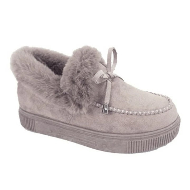 Women's Round Head Plush Warm Snow Boots Ver 2