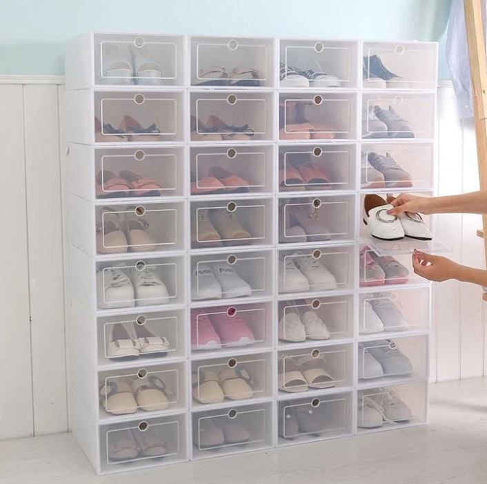 50% OFF- Neatly Stackable Shoe Racks Organizer👟