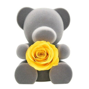 Romantic Valentine's Day Colorful Bear Gift Rose Flower Teddy Bear For Wedding Present Girlfriend Birthday Gift Varitey Sizes