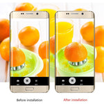 2pcs Tempered Glass Back Camera Lens + Flash Protector Film for Samsung Note 4/5/7 S6 S6edge S7 S7edge S8 S8 Plus