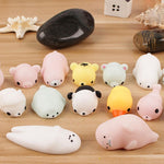 Seals Evacuation Animal Venting Toys Gifts Pinch Music Cute Healing System