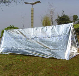 Waterproof Disposable Outdoor Military Survival Emergency Rescue Space Foil Thermal Blanket First Aid Sliver Curtain