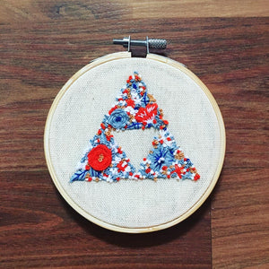 Triforce Embroidery