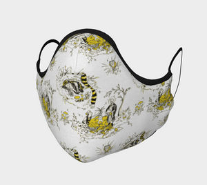 Hufflepuff Face Covering
