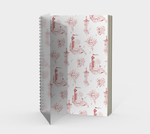 Gryffindor Notebook