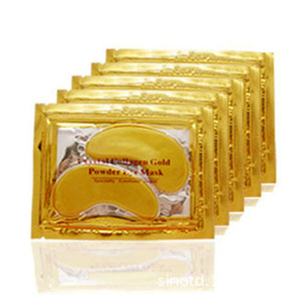 10pair Gold Crystal Collagen Eye Mask