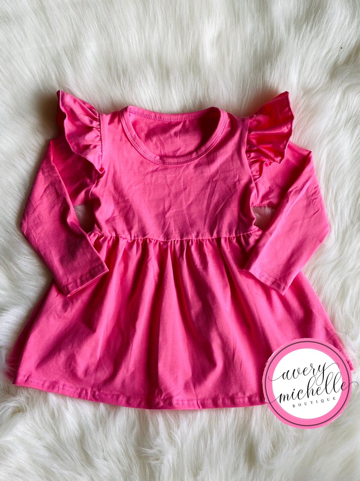 Pink Flutter Tunic (12M, 7T)