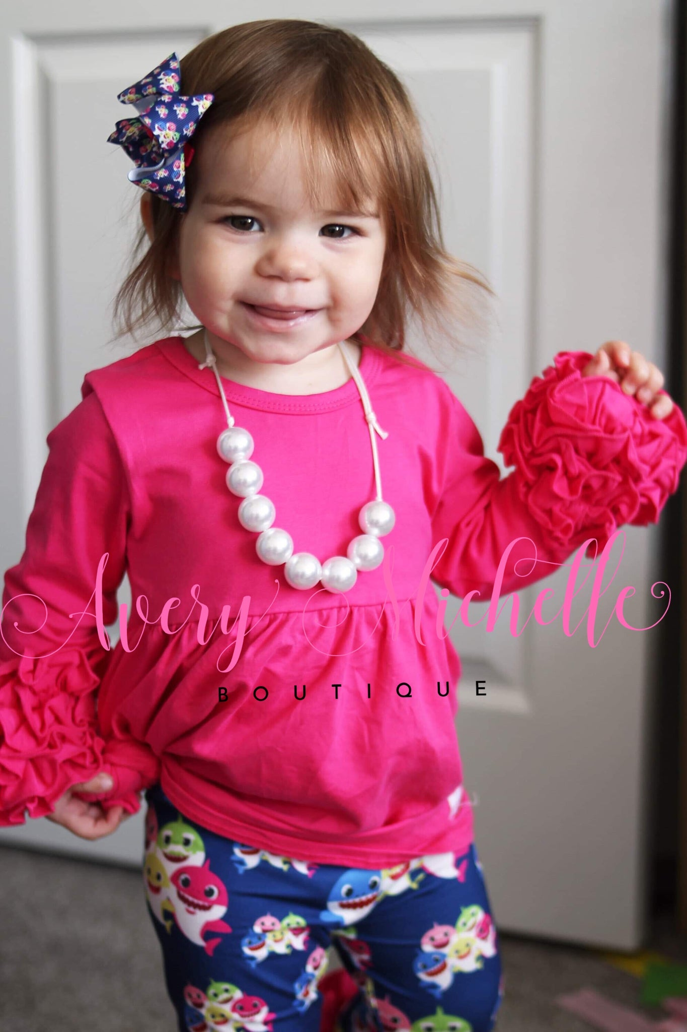 Hot pink Icing Tunic