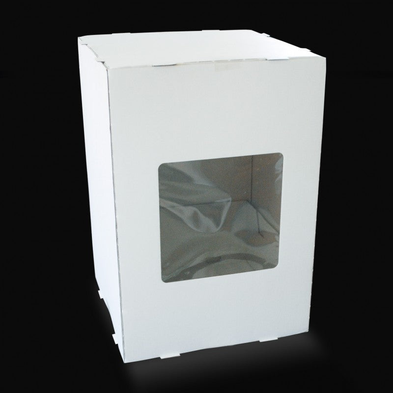 14 X 14 X 22 - Tiered Cake Box - One Window (5 PACK)