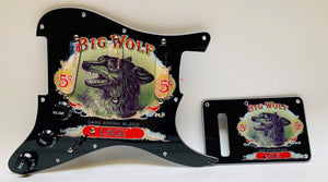 Lace Sensor Big Wolf Custom Loaded Pickguard