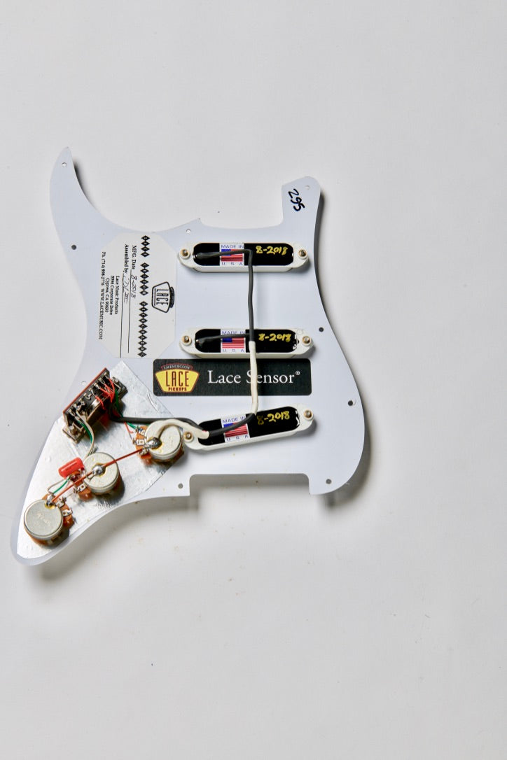 lace sensor hot gold loaded pickguard dimarzio pickup wiring fender lace sensor wiring diagram