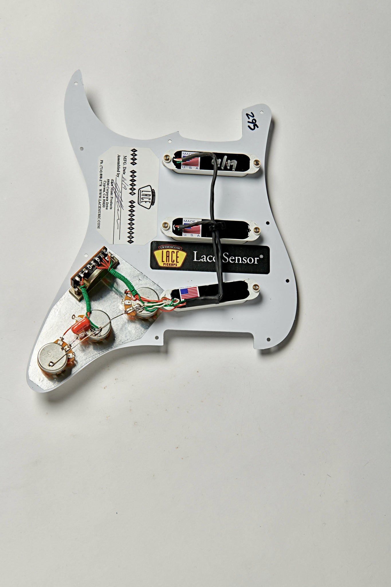 [GJFJ_338]  Lace Sensor Gold Loaded Pickguard – Lace Music Products | Fender Lace Sensor Wiring Diagram |  | Lace Music Products